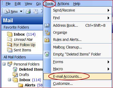 Outlook2003-tool
