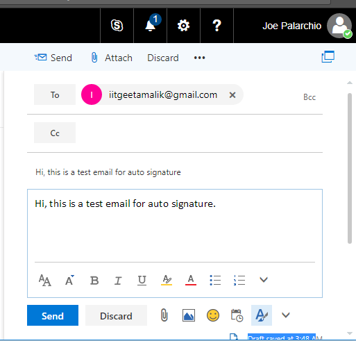 How to Set up Automatic Signature in Office 365 Exchange