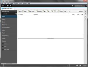 Home Screen of IBM