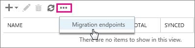 migration endpoints