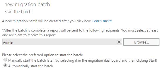 start batch migration
