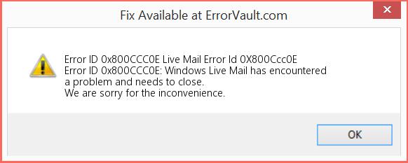 windows-live-mail-error-0x800ccc0e